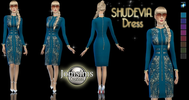 Shudevia Dress by JomSims