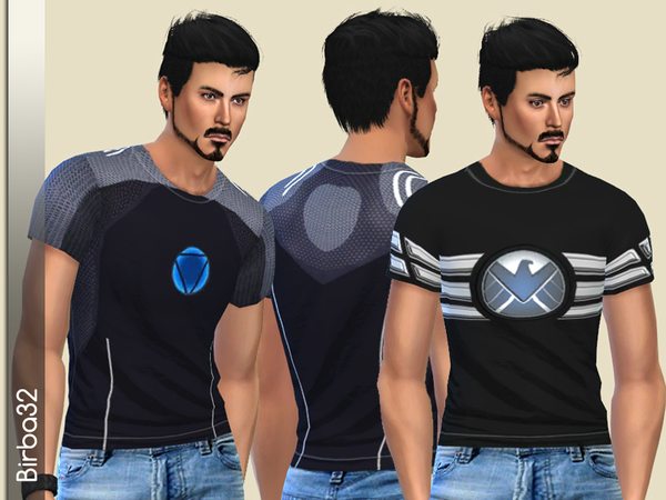 Avengers - Tony Stark T-Shirt by Birba32