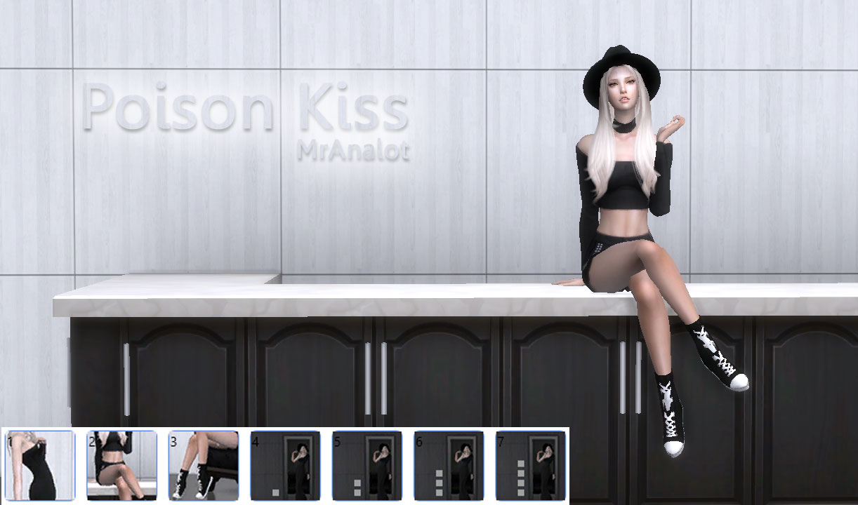 Poison Kiss Pose pack - Mr.Analot