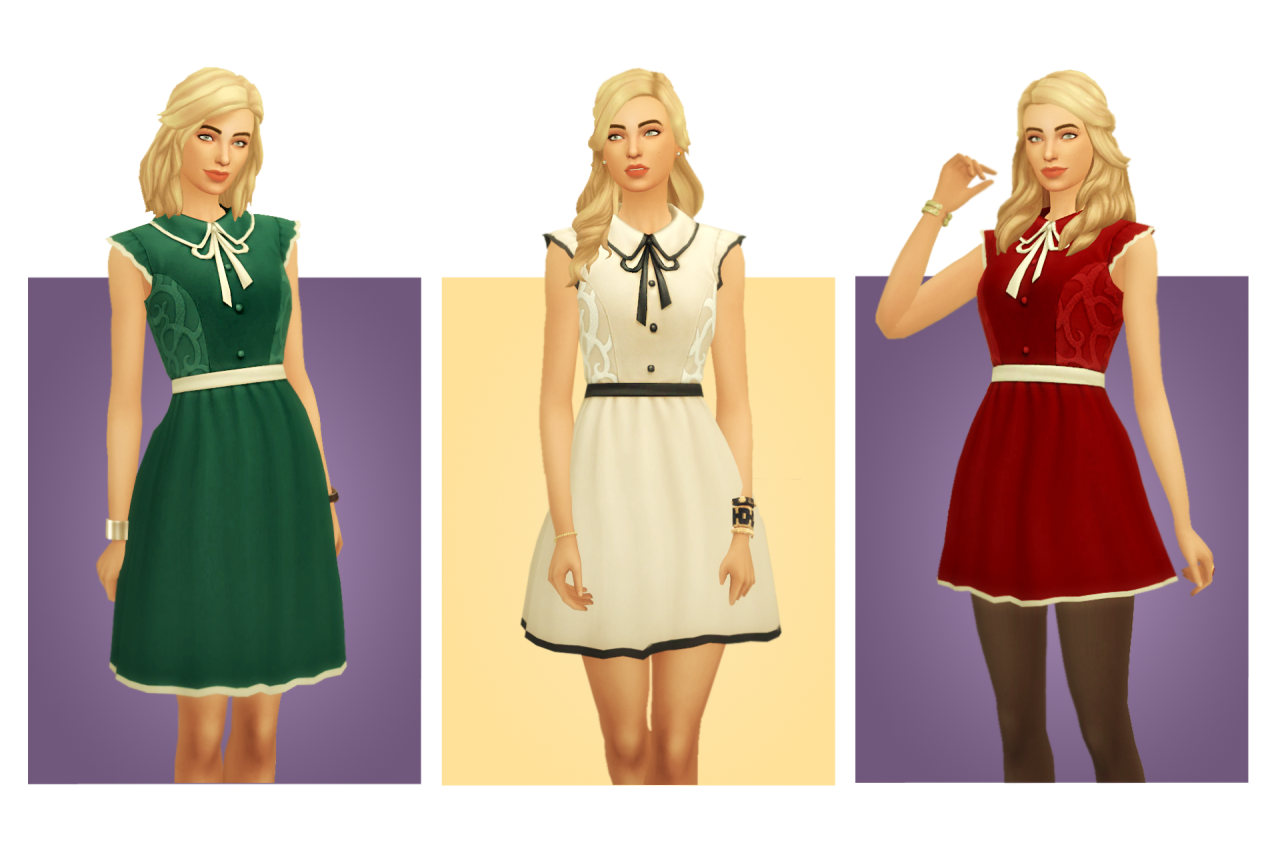 Emilee Dress by BlogSimpleSimmer