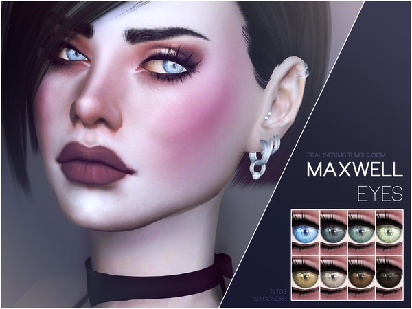 Maxwell Eyes N103 by Pralinesims