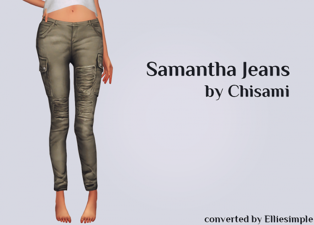 Samantha Jeans by Chisami от EllieSimple