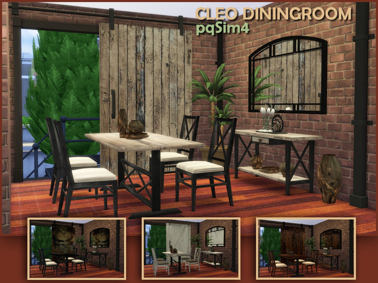 Cleo Dining Set by pqSim4