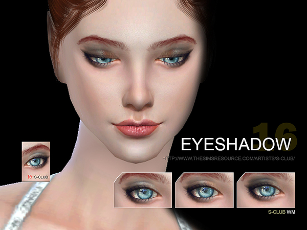 S-Club WM thesims4 Eyeshadow 16