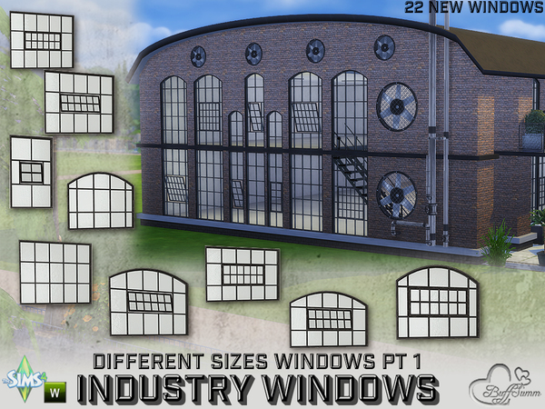 Industry Windows for All Wall Sizes Pt. 1 by BuffSumm