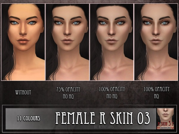 R skin 3 - FEMALE by RemusSirion