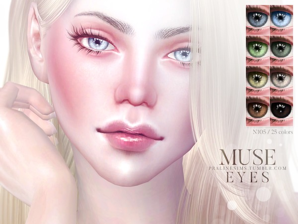 Muse Eyes N105 by Pralinesims