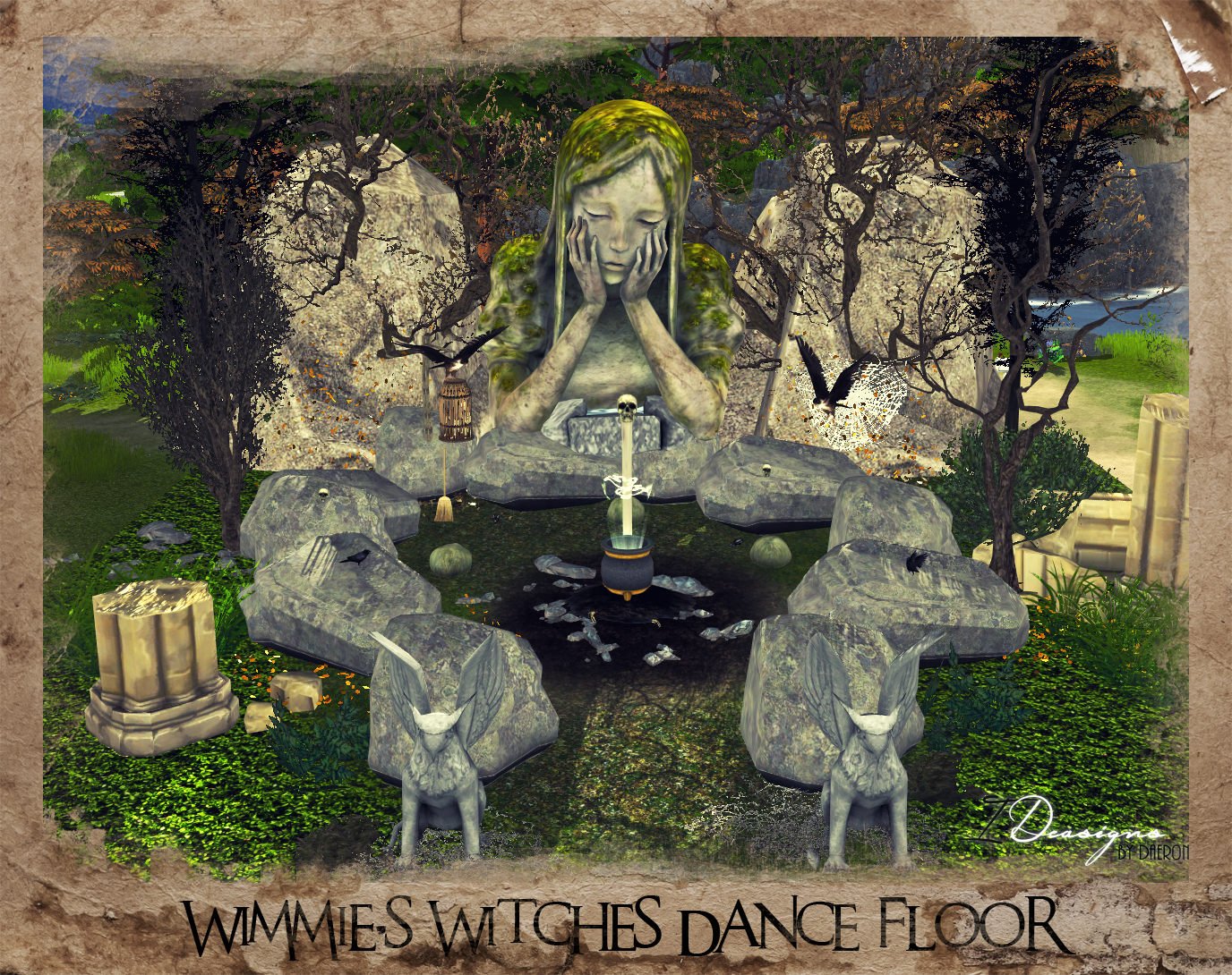3T4 Wimmie's Witches Dance Floor by Daer0n