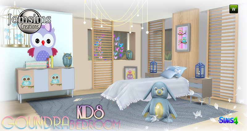 Goundra Kid's Bedroom Set by JomSims