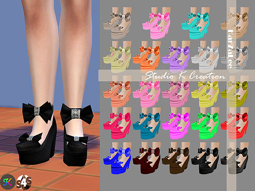 bow shoes by Karzalee
