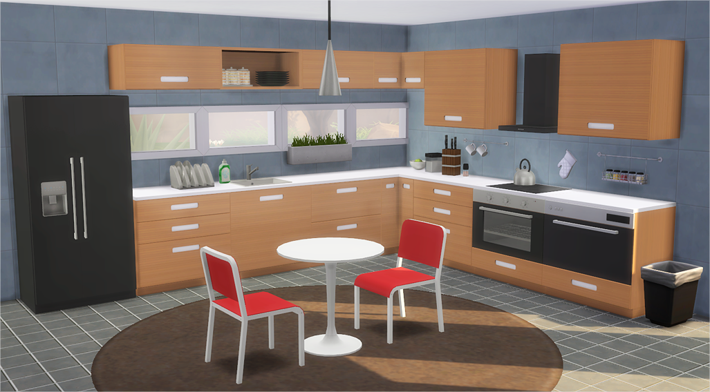 IKEA Inspired MRSTA Kitchen by Veranka
