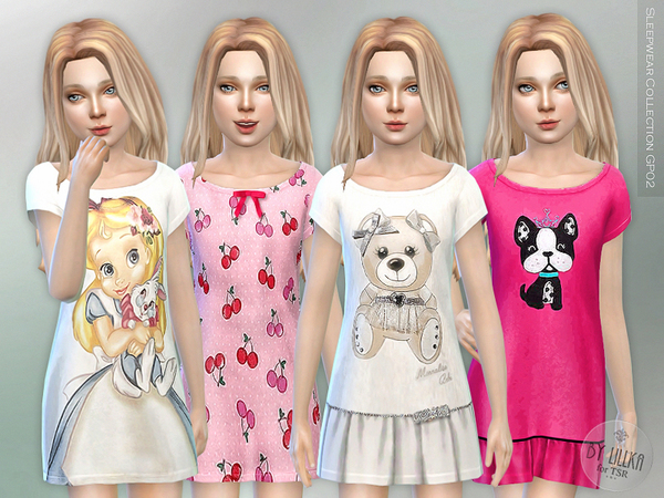 Sleepwear Collection GP02 by lillka