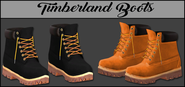 Timberland Boots by lumy-sims