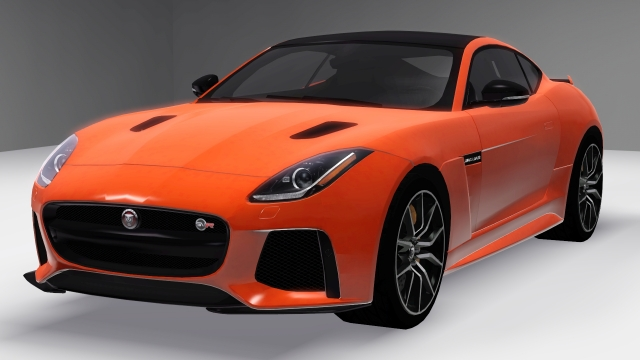 2017 Jaguar F-TYPE SVR Coupe by Fresh-Prince