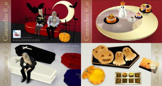 Halloween Set by Caramelize