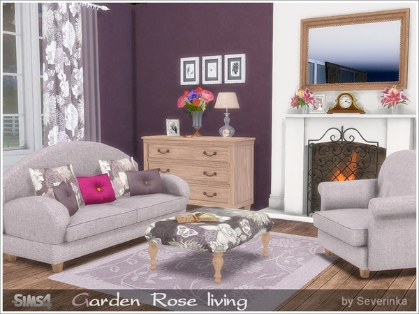 Garden Rose livingroom by Severinka