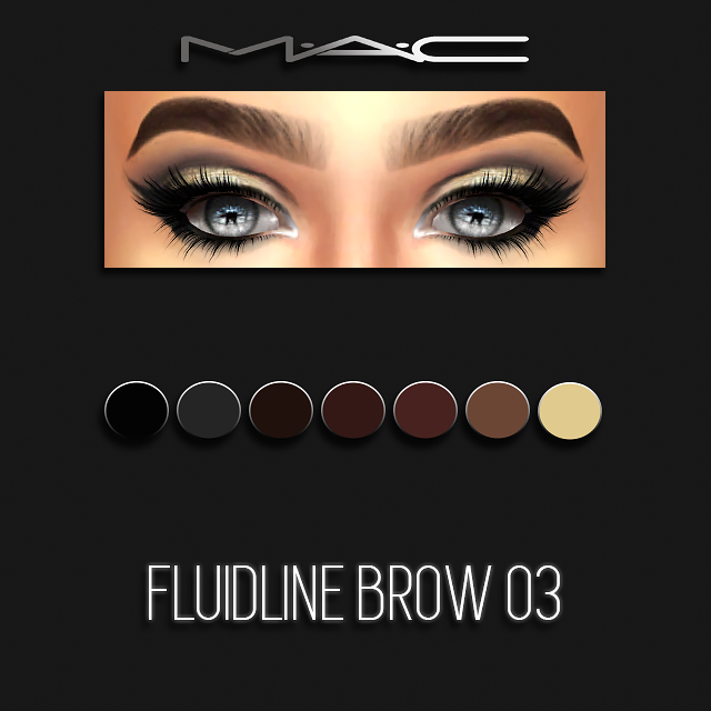 Fluidline Brow 03 by maccosimetics