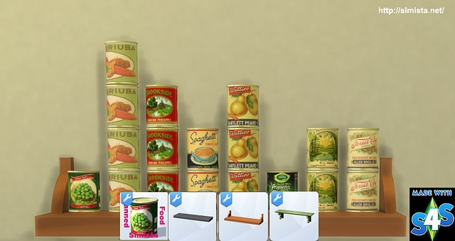 Canned Food by Simista