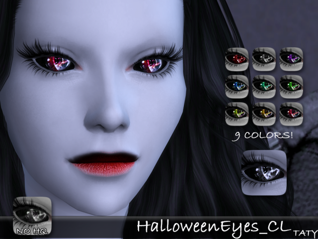 Halloween Eyes CL 01 by tatygagg