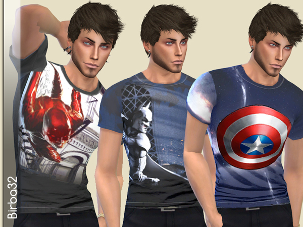 Super Hero V2 T-Shirts by Birba32