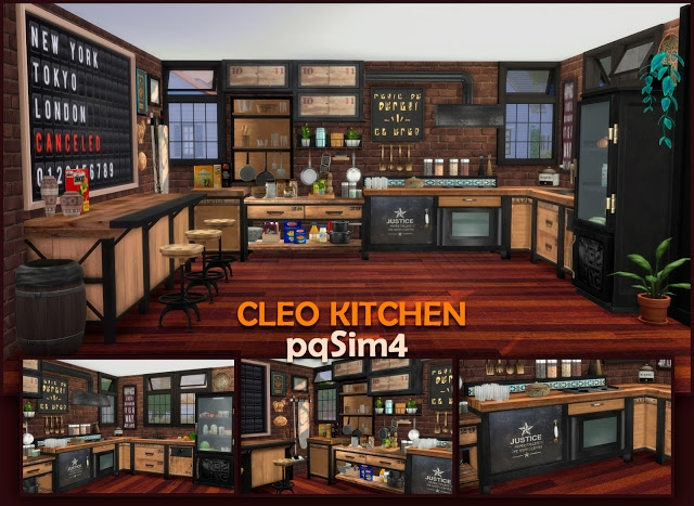 Cleo Kitchen by pqSim4