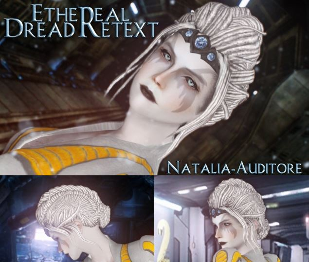 Ethereal Hair Dread Retexture by natalia-auditore