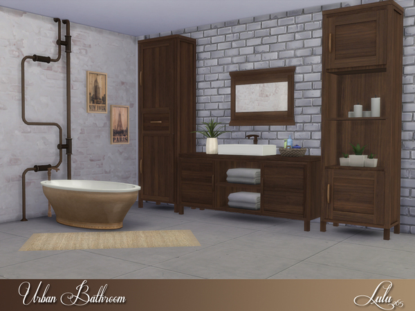 Urban Bathroom by Lulu265