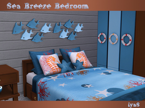 Sea Breeze Bedroom by soloriya