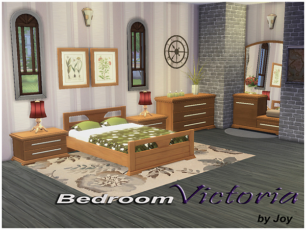 Bedroom Victoria by Joy