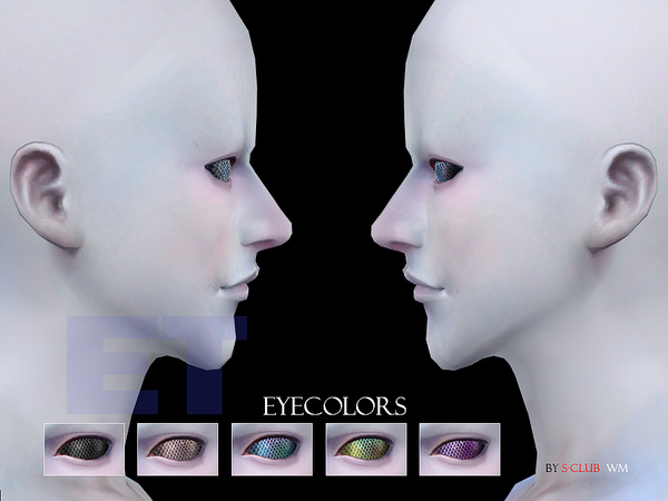 S-Club WM thesims4 Eyecolor 41 ET2