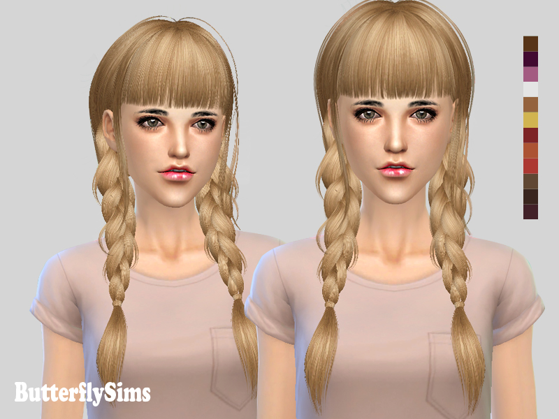 Hairstyle 133 by Butterflysims