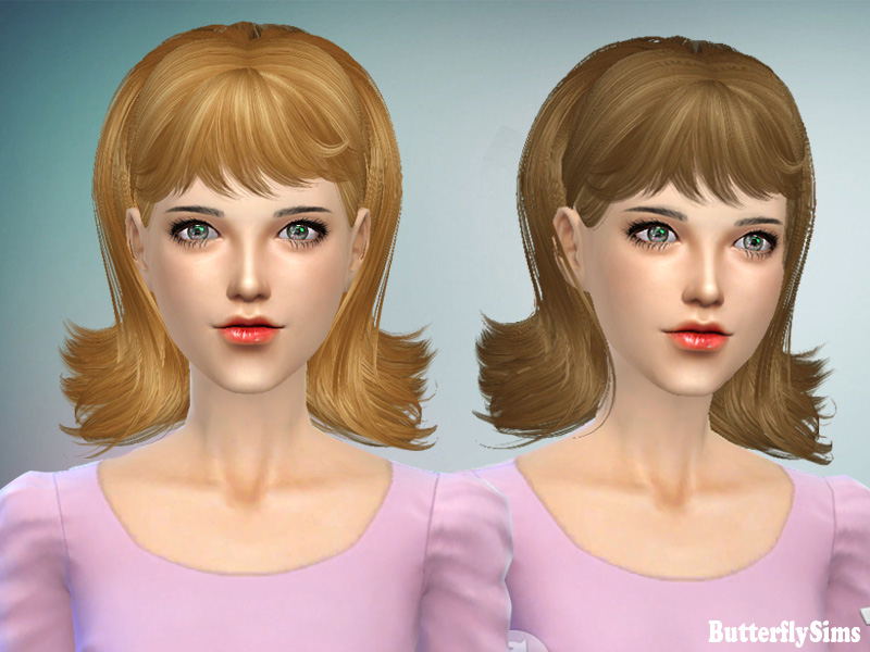 Hairstyle 064 by Butterflysims