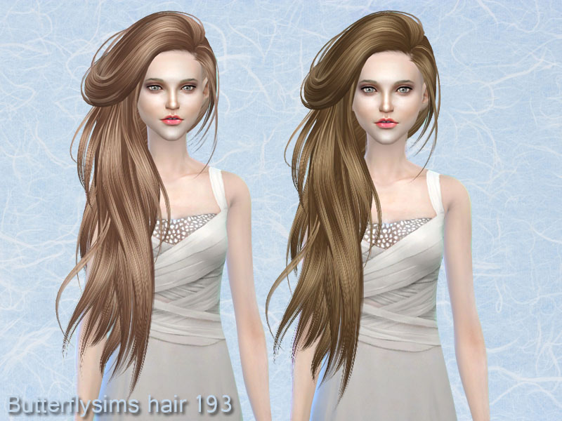 Hairstyle 193 by Butterflysims