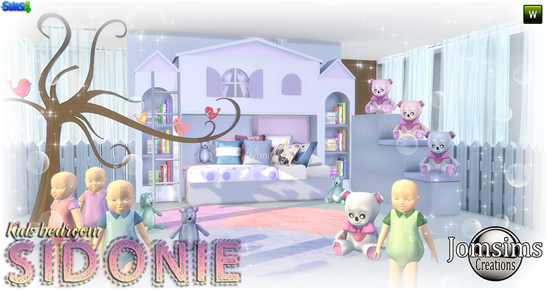 Sidonie Kid's Bedroom Set by JomSims