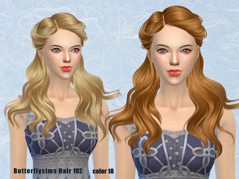 Hairstyle 192 by Butterflysims