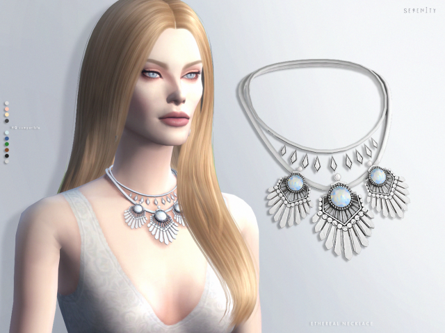 ETHEREAL NECKLACE by serenity