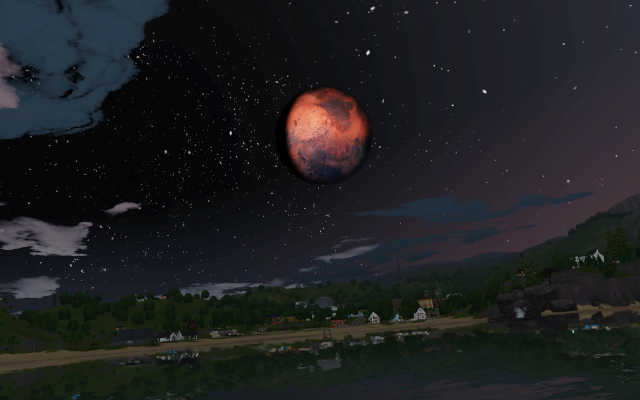 ефолтная замена луны и звезд Skyrims Masser Moon in TS3! And a new star mod by wasset-aseskara