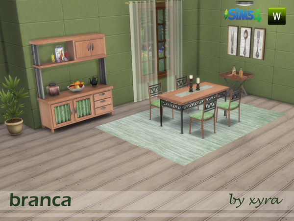 Branca Dining Set by Xyra33