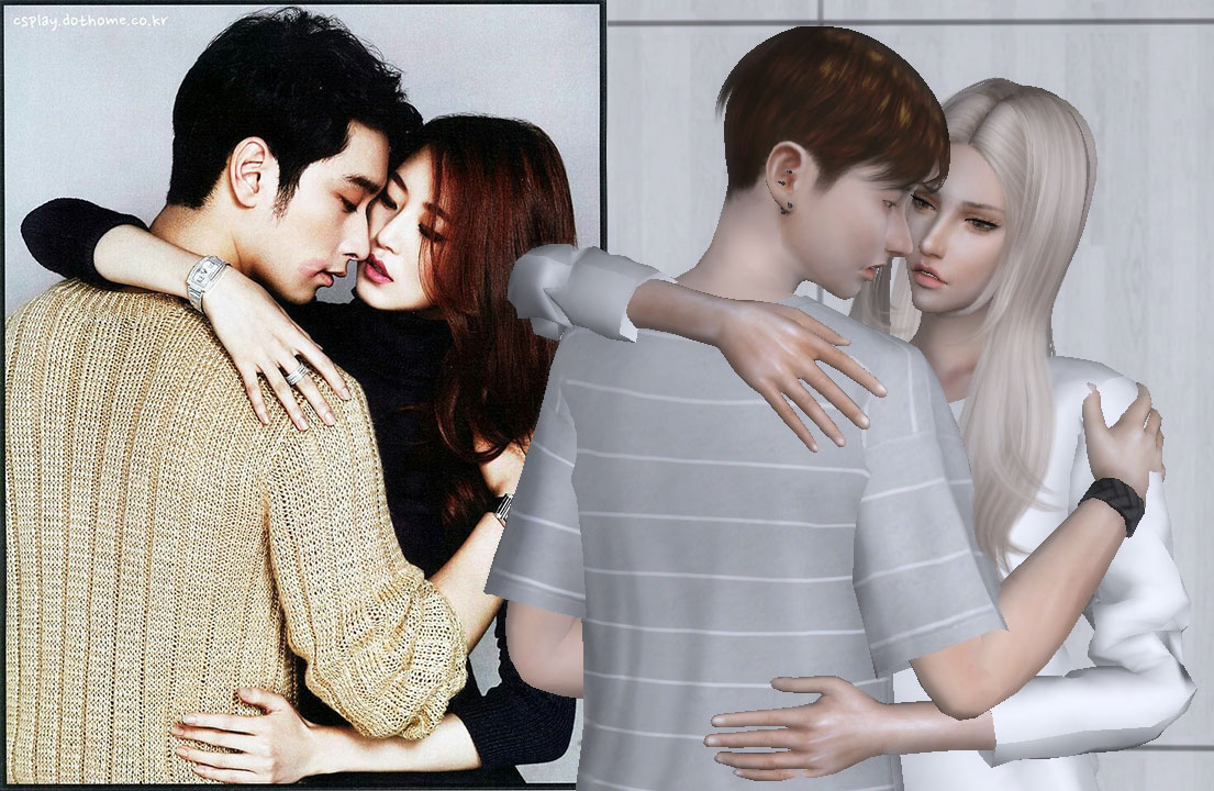 Couple Pose pack Vol.1 by Mr.Analot