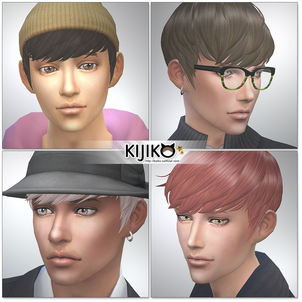 Sextuplets Hair for Males and Females by Kijiko