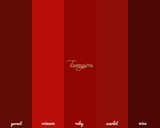 Red Wallpaper by ItsEveySims