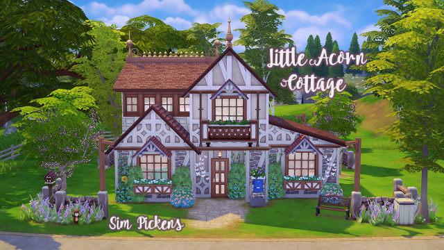 Little Acorn Cottage by simpickens