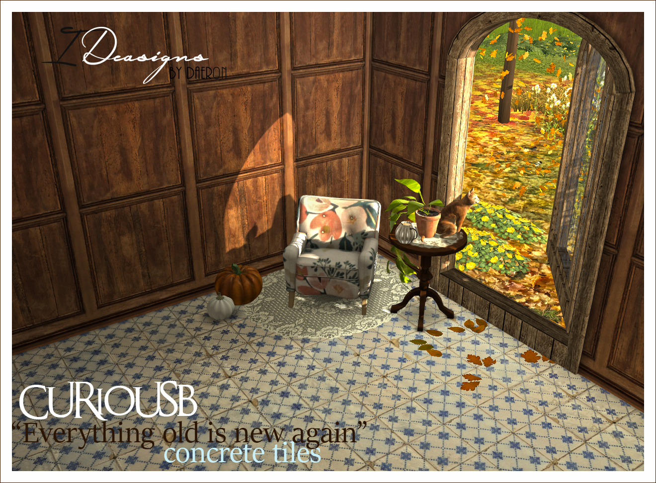 TS2 Everything Old Is New Again Tile Floors Conversion by Daer0n