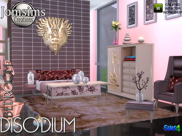Disodium bedroom by jomsims