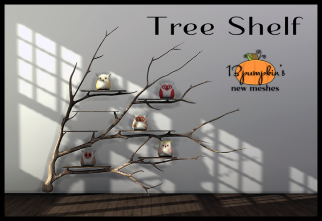 Tree Shelf by 13pumpkin