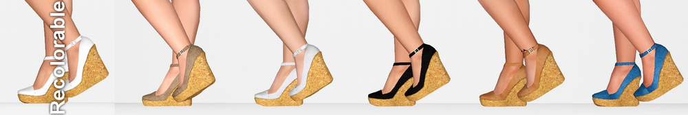 Shoes With Cork Platform от ifcasims