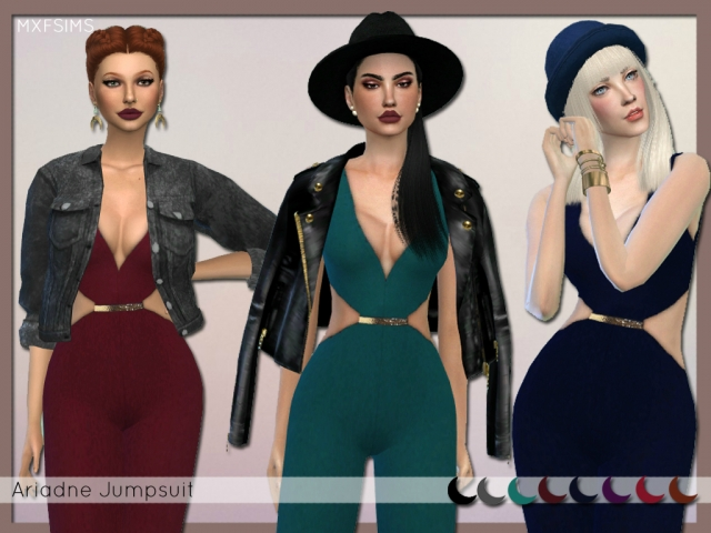 ARIADNE JUMPSUIT by MXFSIMS
