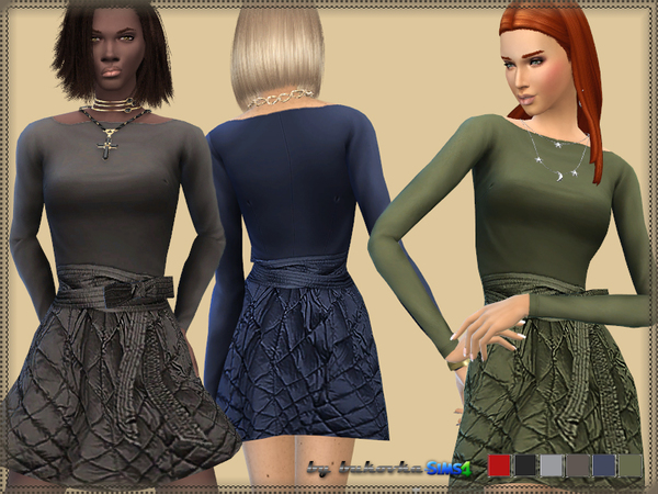 Dress Quilted Skirt by bukovka
