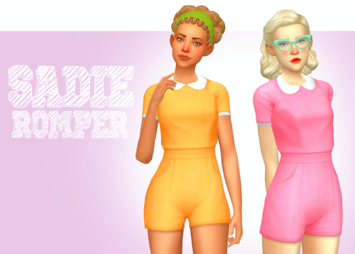 Sadie Romper n 19 Colors by MiniZen