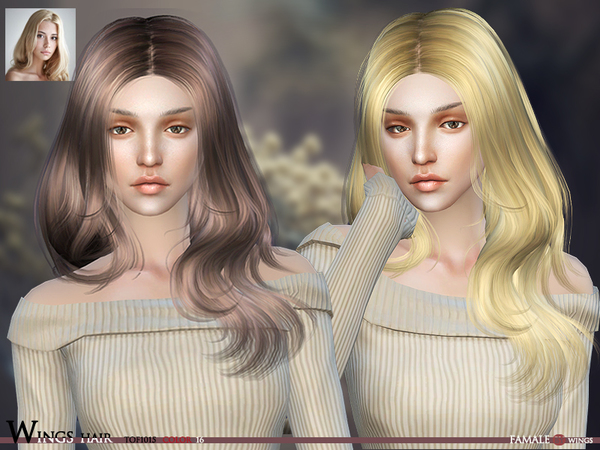 WINGS HAIR SIMS4 TOF1015 F